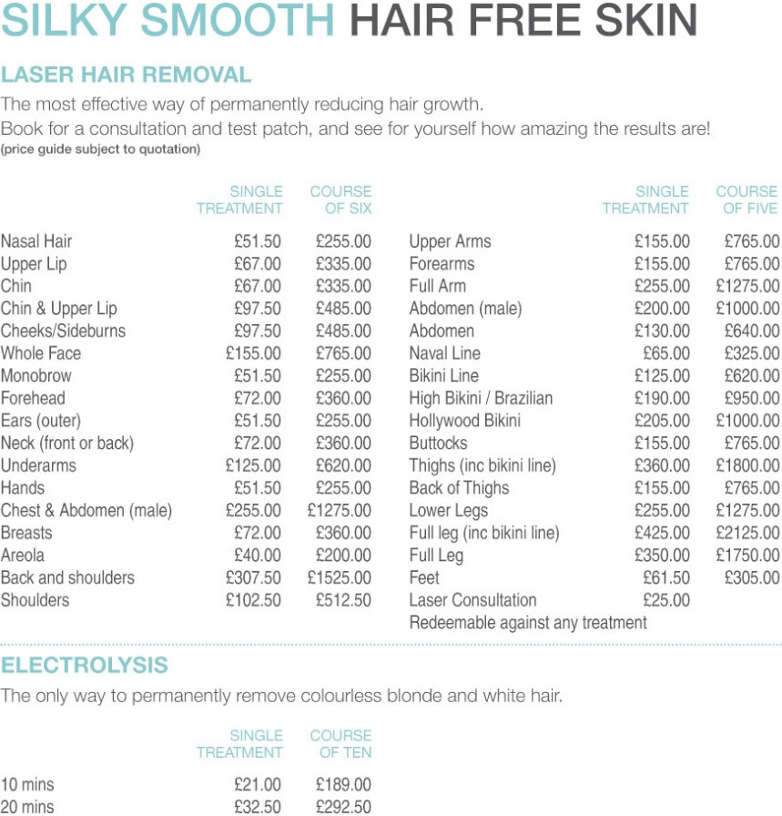 Laser Hair Removal Alderley Edge Beauty Works Aesthetics Clinic