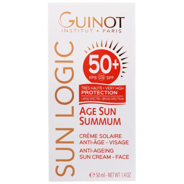 Anti-Ageing Sun Cream for Face SPF50+